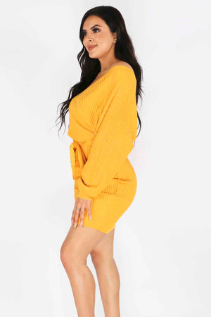 Rib Sweater Dress