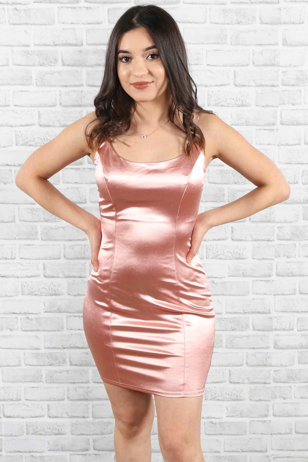 Catherine Satin Dress