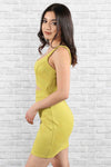 Kimberly Lime Dress