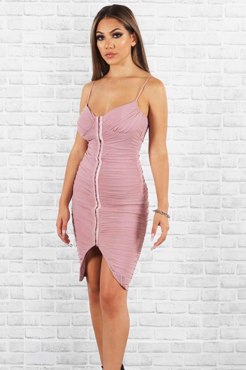 Miss Glamour Midi Dress