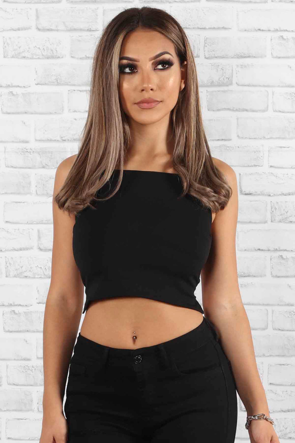 Exposed Crop Top