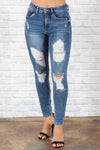 Erin Distressed Jeans