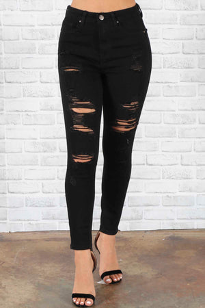 Rider Distressed Jeans