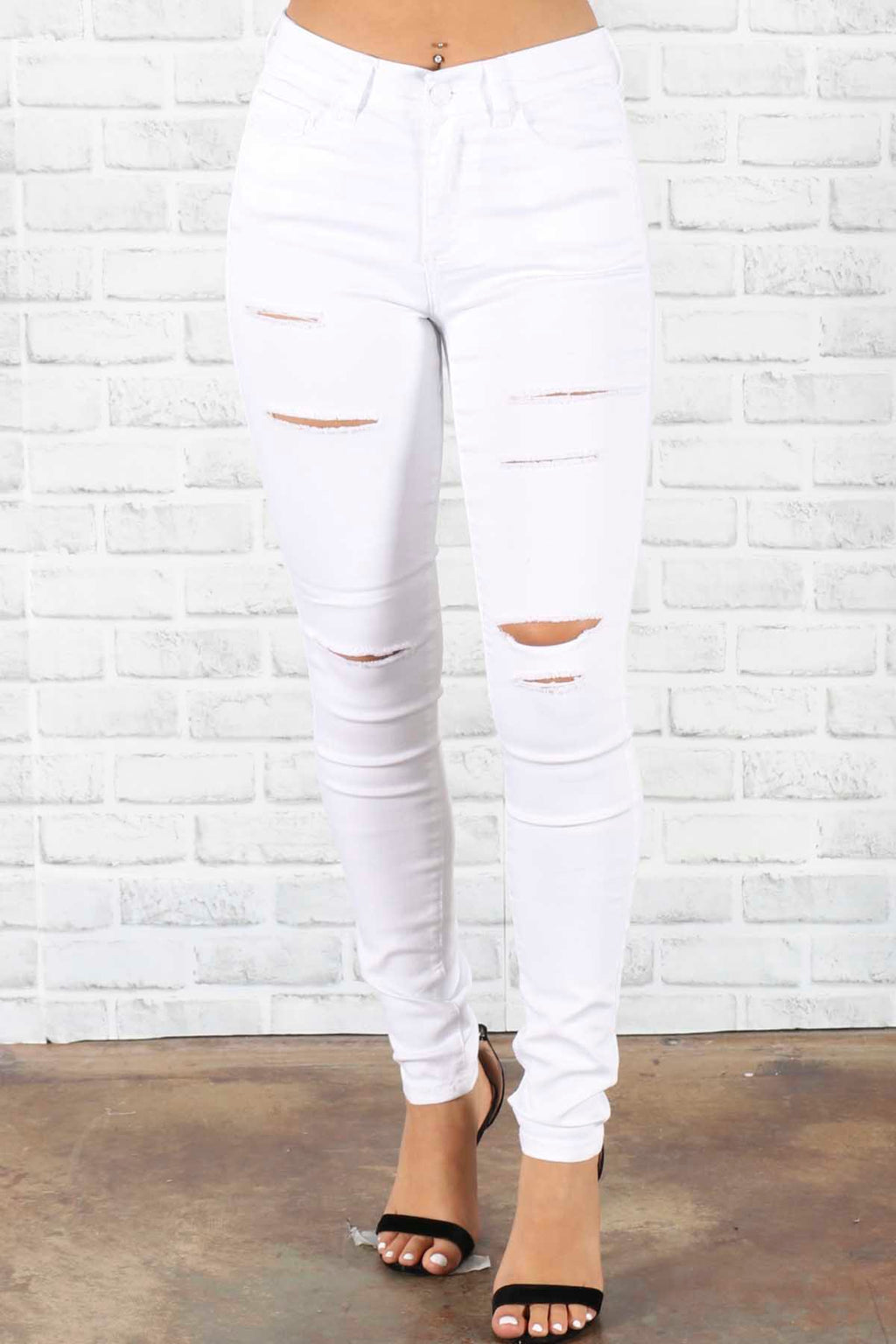 Amber Distressed Jeans