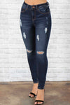 Hailey Distressed Jeans