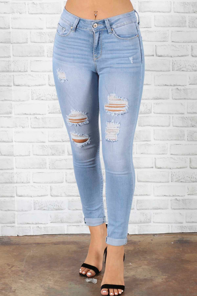Naya Distressed Jeans