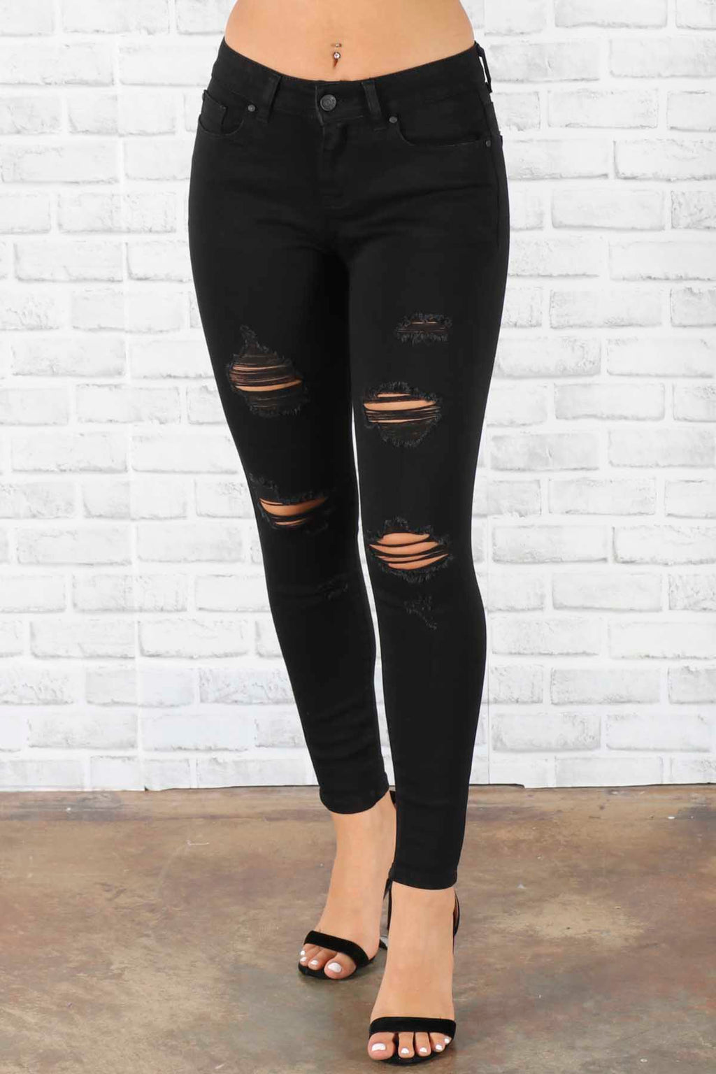 Vicky Distressed Jeans