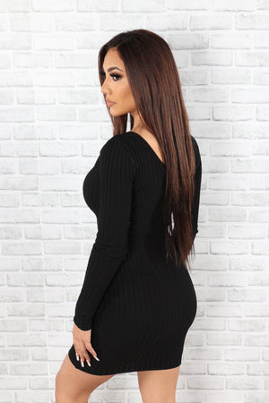 Laura Ribbed Dress