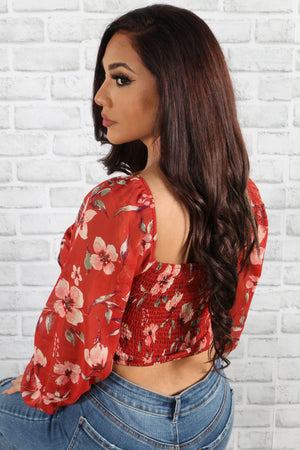 Adore You Floral Blouse
