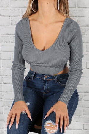 Brandy Cropped Long Sleeve