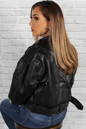 Gigi Leather Jacket