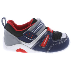 NEKO Baby Shoes (Navy/Red)