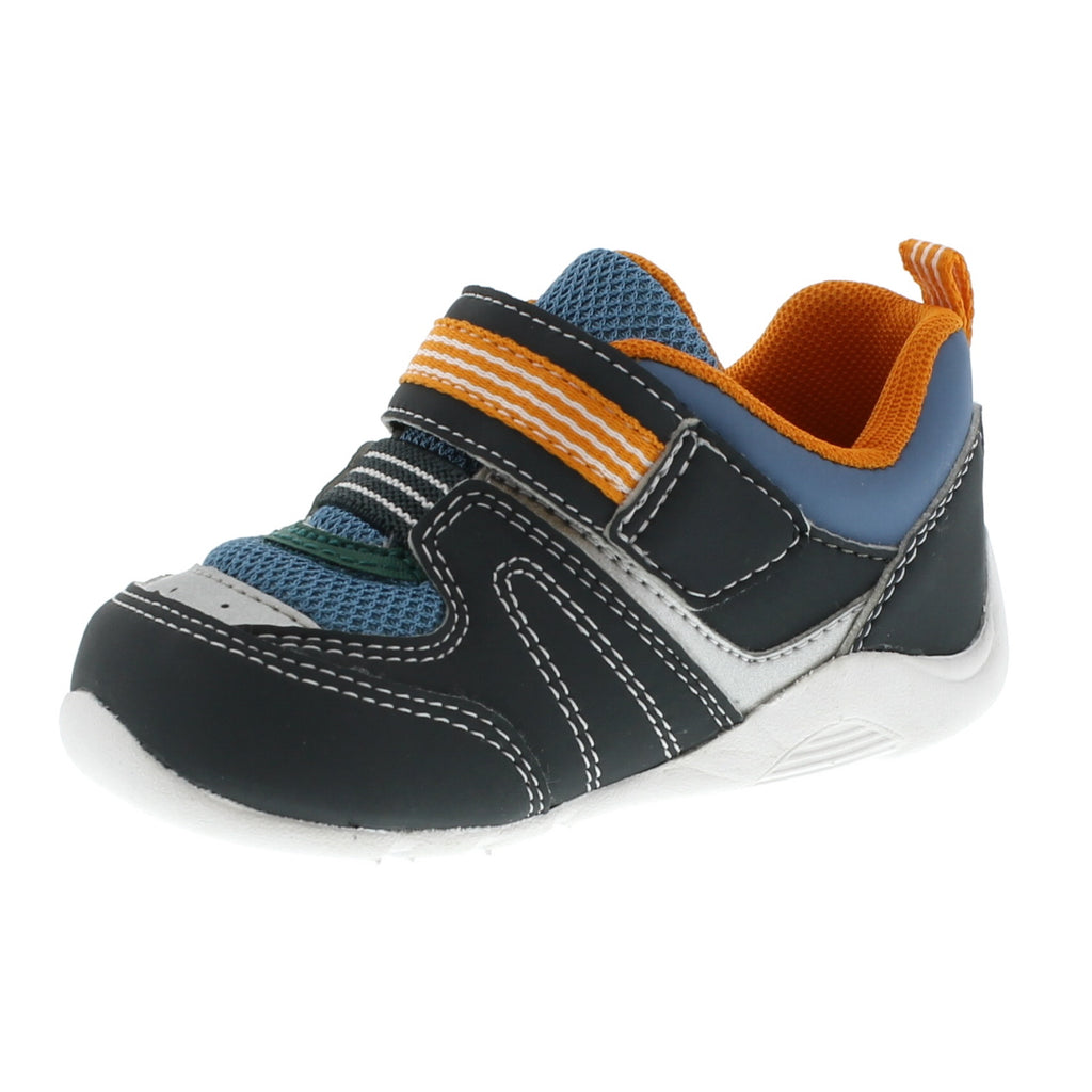NEKO Baby Shoes (Charcoal/Sea)