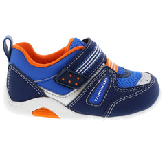 NEKO Baby Shoes (Navy/Tangerine)