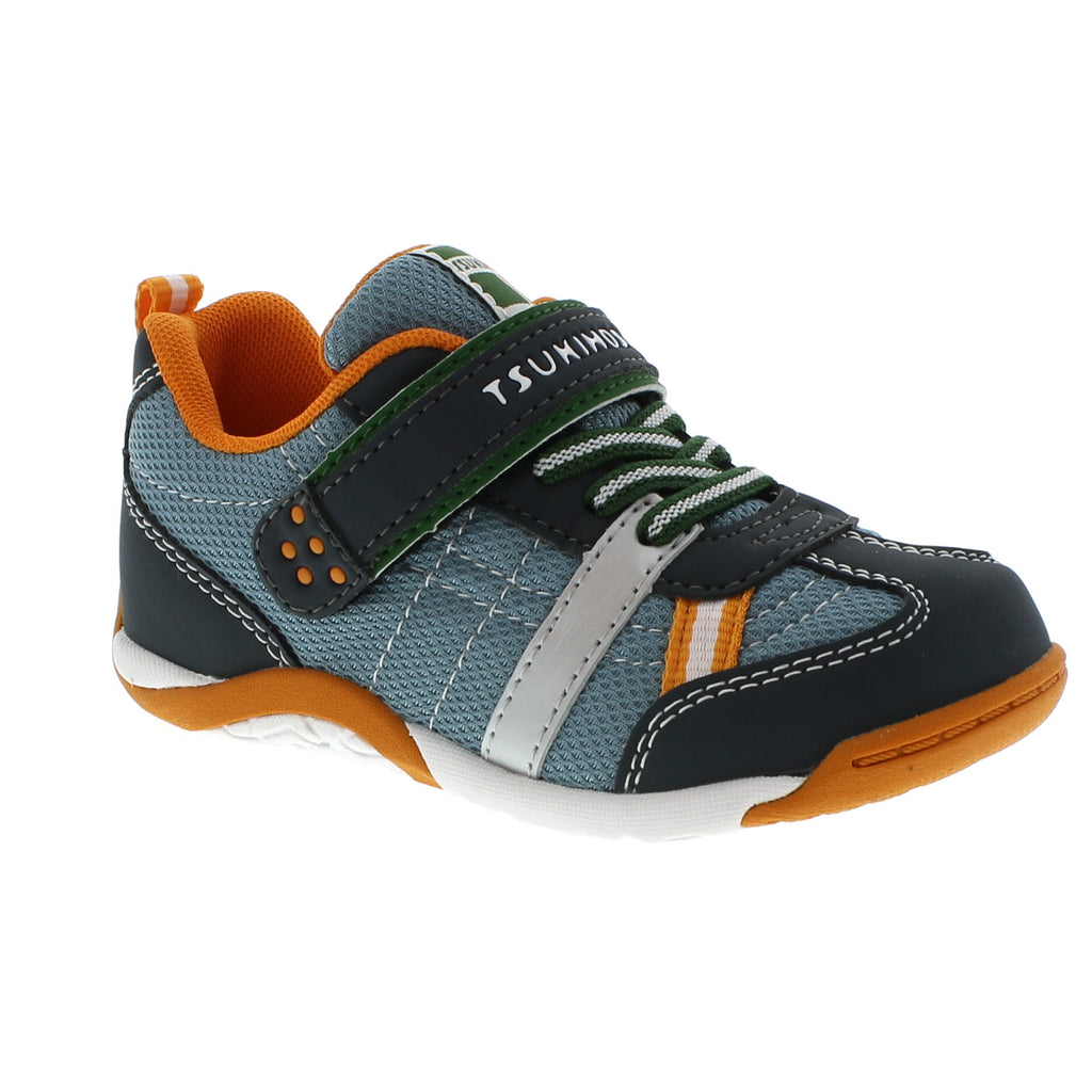 KAZ Child Shoes (Charcoal/Sea)