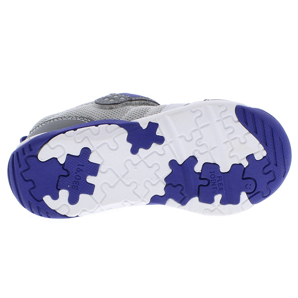 KAZ Child Shoes (Gray/Royal)