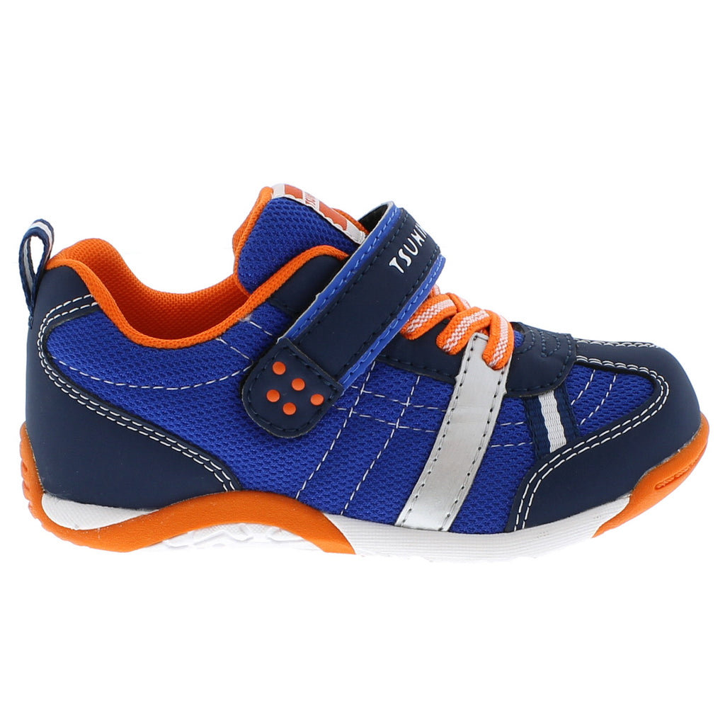 KAZ Child Shoes (Navy/Tangerine)