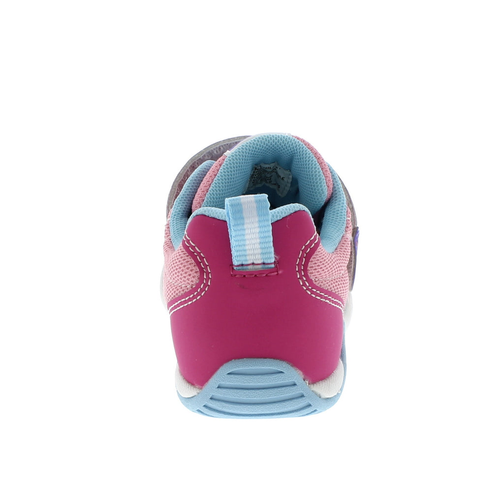 KAZ Child Shoes (Fuchsia/Light Blue)