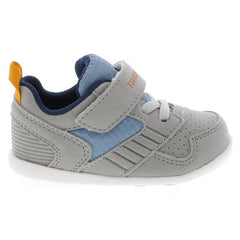 RACER Baby Shoes (Gray/Sea)