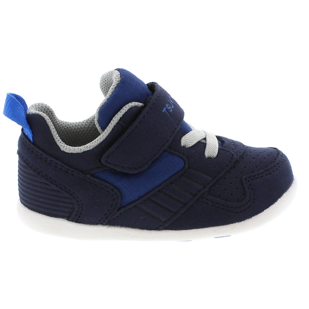 RACER Baby Shoes (Navy/Blue)