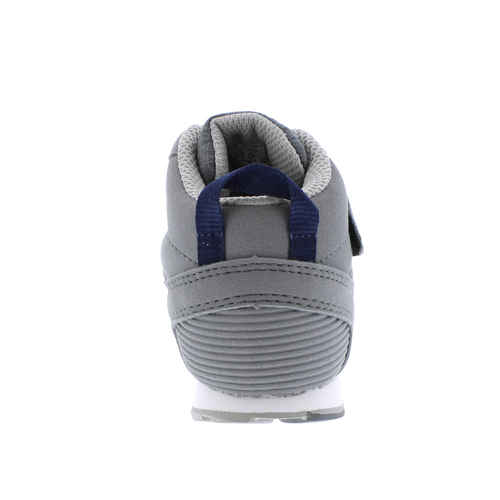 RACER MID Child Shoes (Gray/Navy)