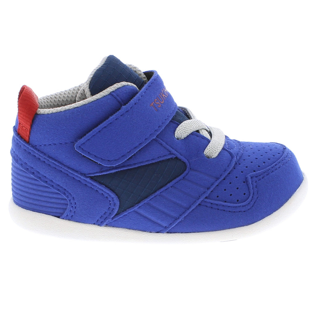 RACER MID Baby Shoes (Royal/Red)
