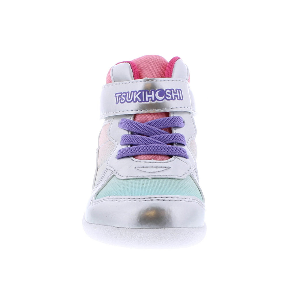 JAM MID Child Shoes (Silver/Pink)
