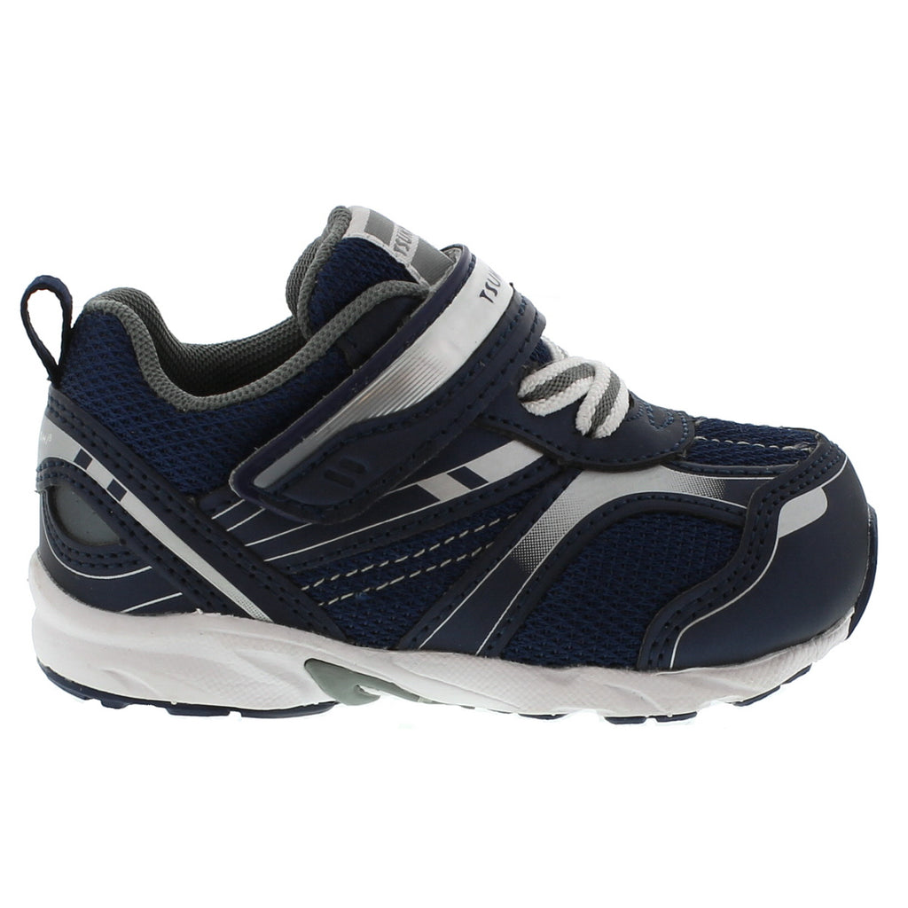 SPORT Baby Shoes (Navy/Silver)