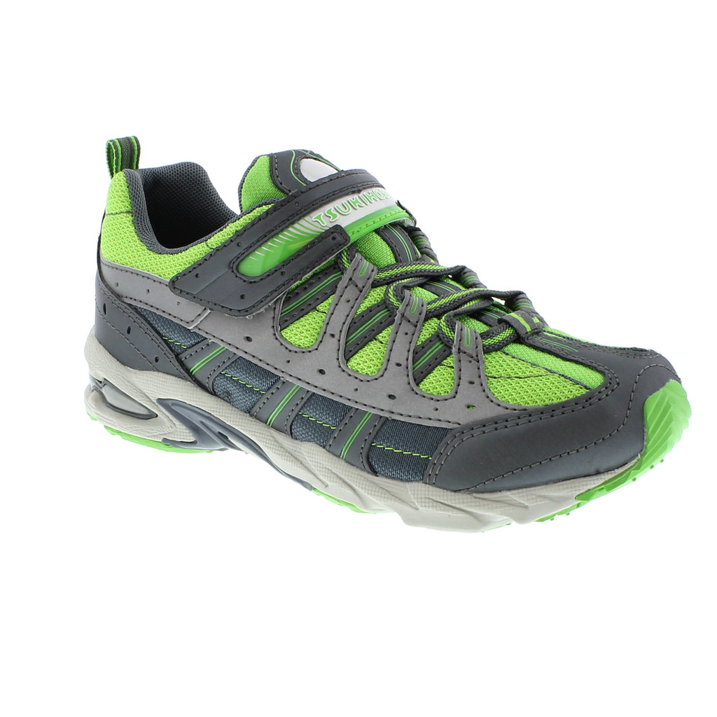 SPEED Youth Shoes (Graphite/Green)