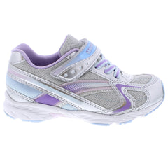 GLITZ Child Shoes (Silver/Lavender)