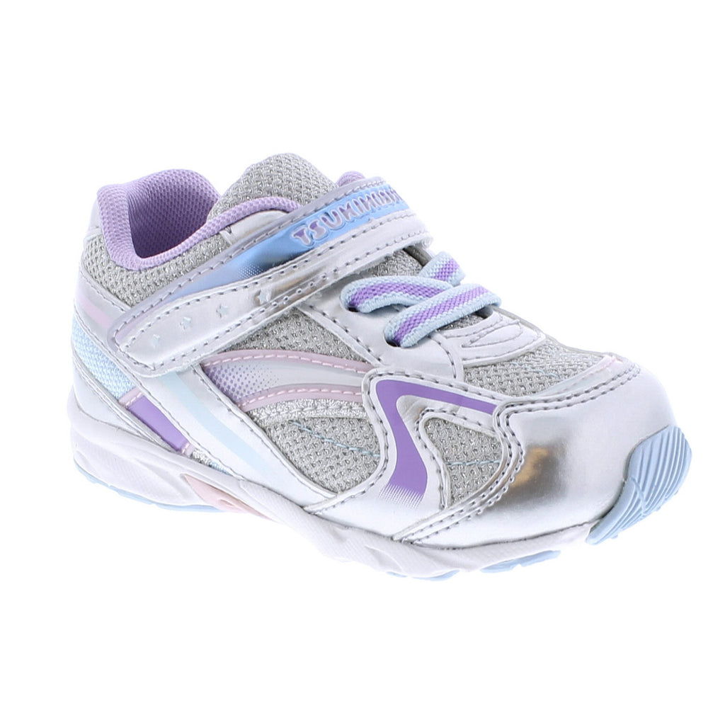 GLITZ Baby Shoes (Silver/Lavender)