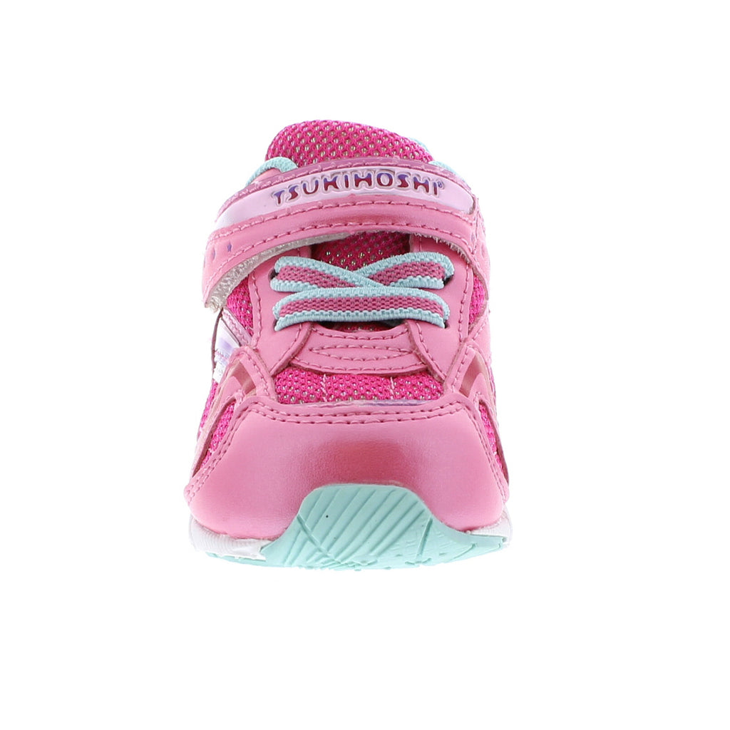 GLITZ Baby Shoes (Hot Pink/Mint)