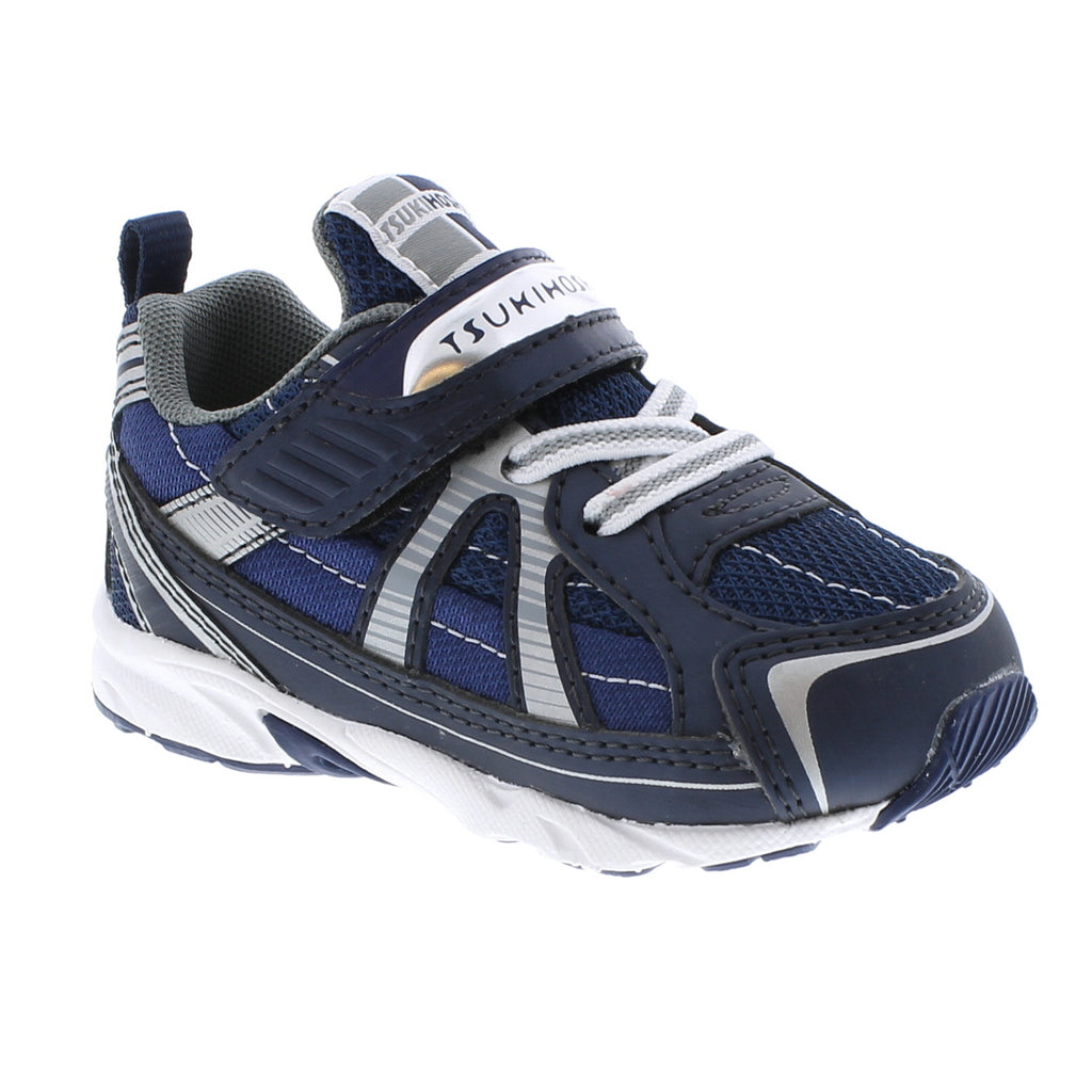 STORM Baby Shoes (Navy/Silver)