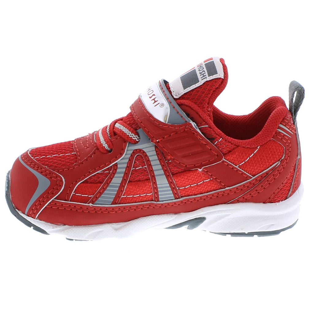 STORM Baby Shoes (Red/Gray)