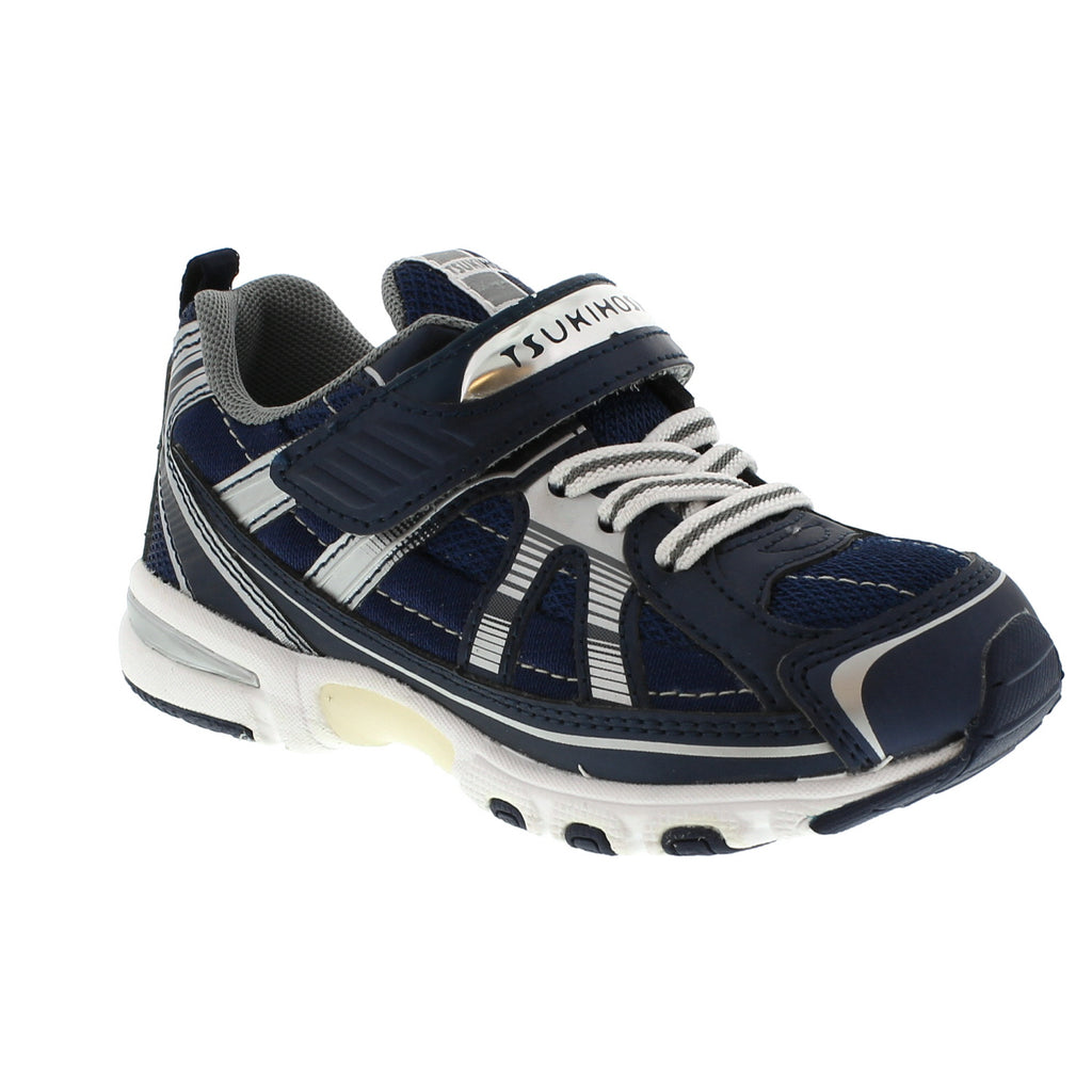 STORM Child Shoes (Navy/Silver)