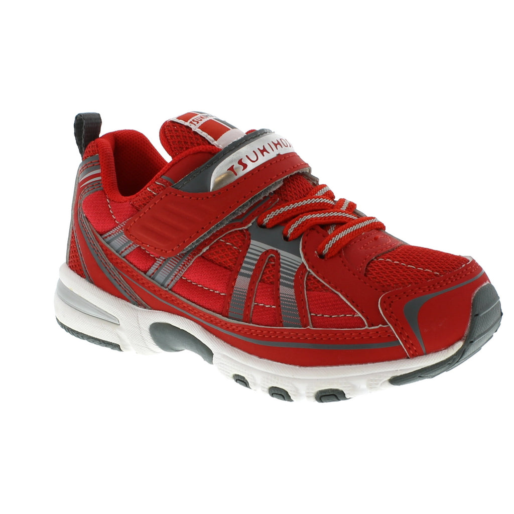 STORM Child Shoes (Red/Gray)