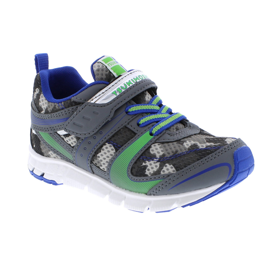 VELOCITY Child Shoes (Gray/Camo)