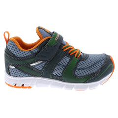 VELOCITY Child Shoes (Charcoal/Sea)