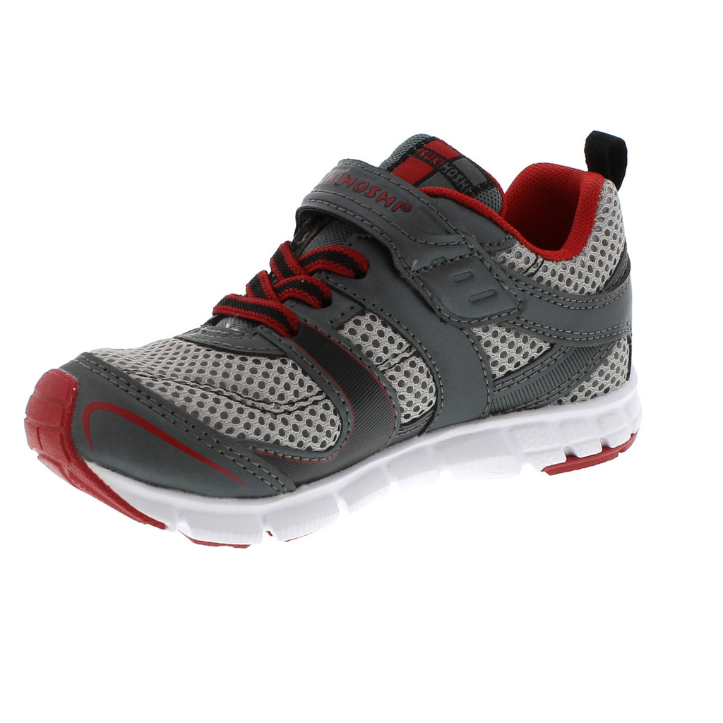 VELOCITY Youth Shoes (Graphite/Red)