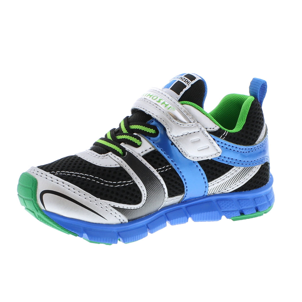 VELOCITY Child Shoes (Silver/Black)