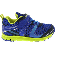 VELOCITY Child Shoes (Blue/Lime)