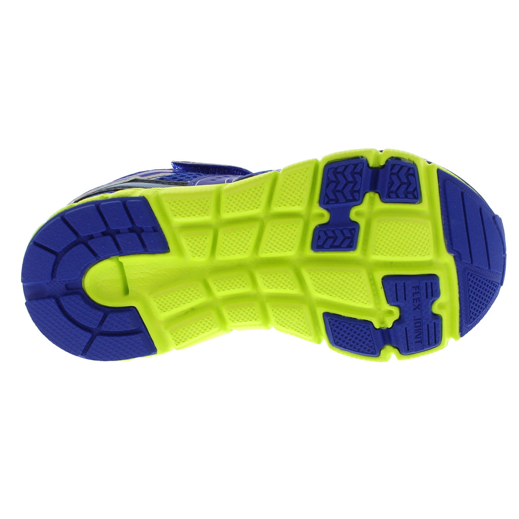 VELOCITY Youth Shoes (Blue/Lime)