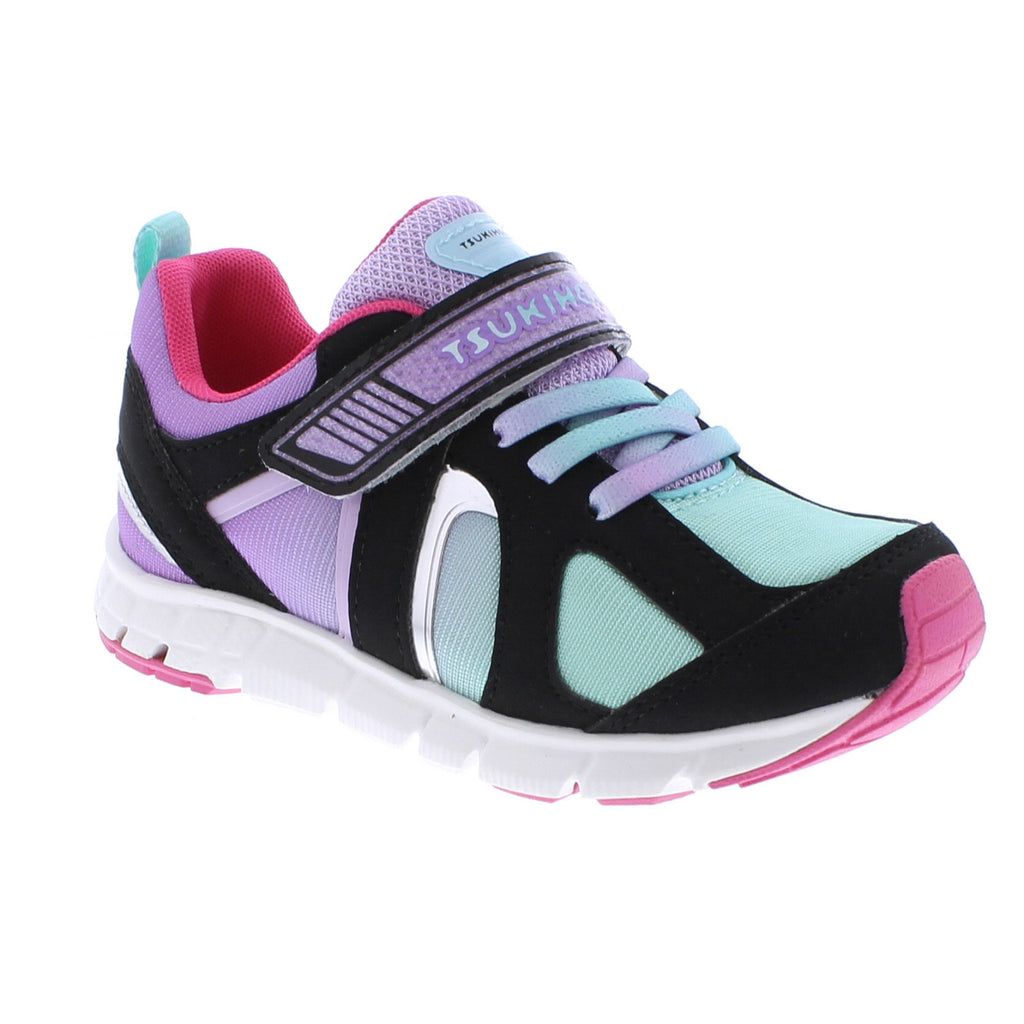 RAINBOW Child Shoes (Black/Mint)
