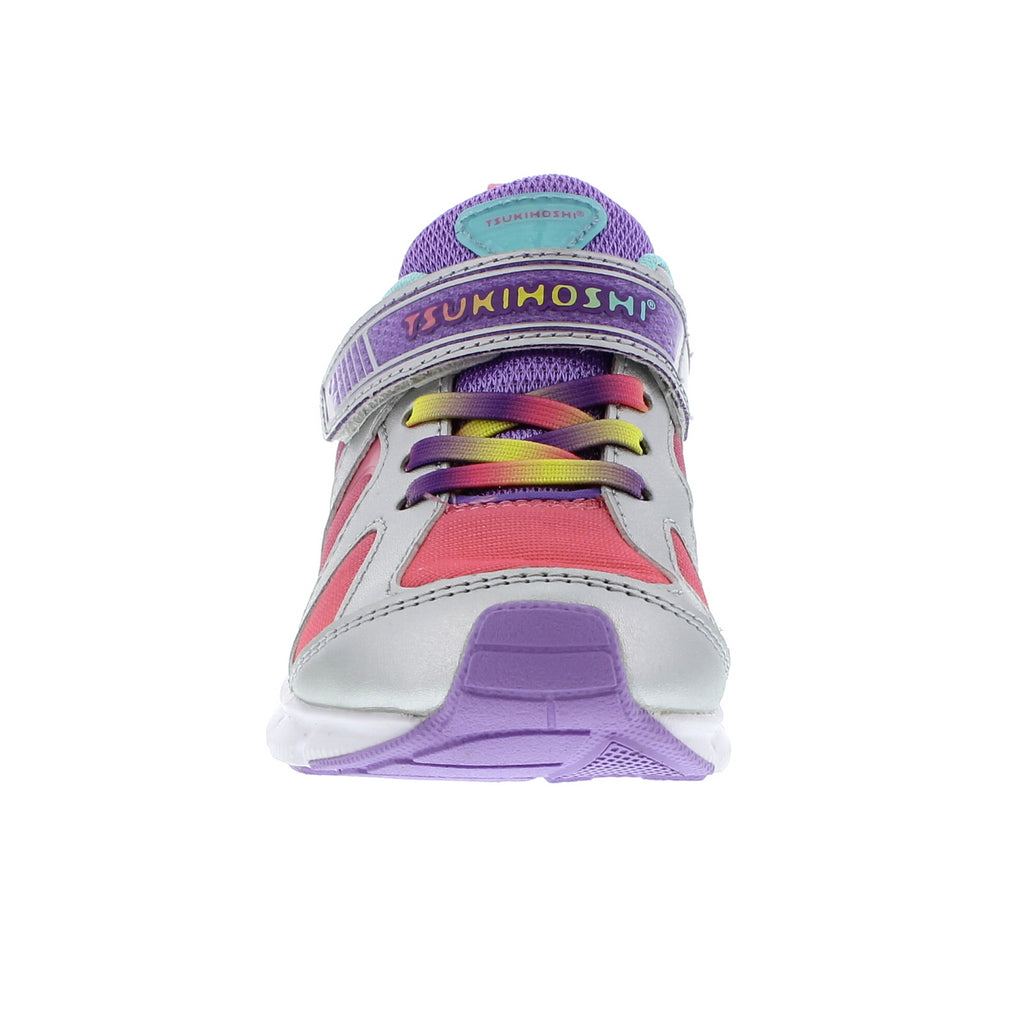 RAINBOW Child Shoes (Silver/Lavender)