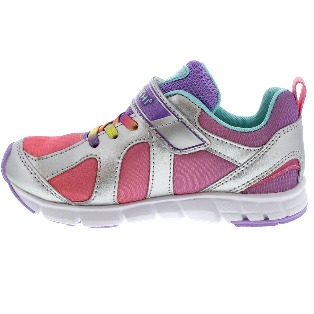 RAINBOW Youth Shoes (Silver/Lavender)