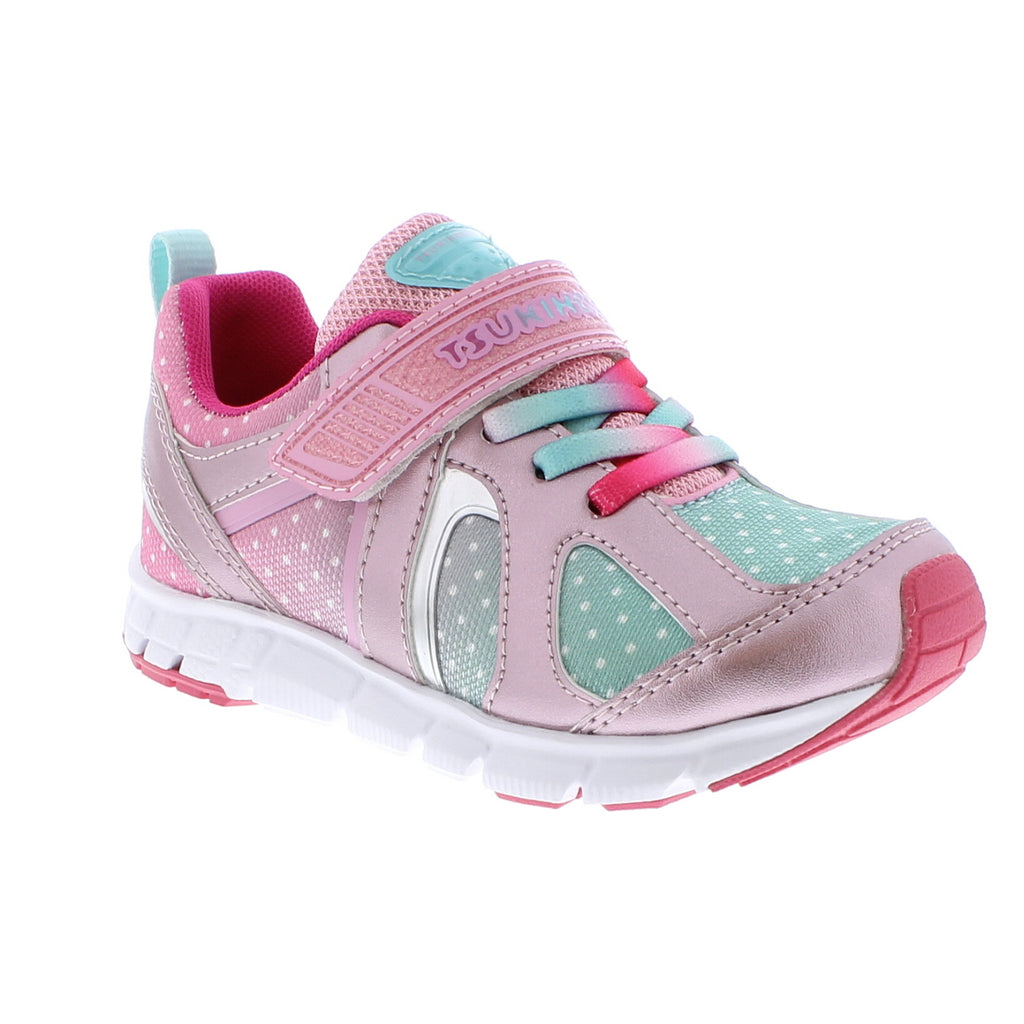 RAINBOW Youth Shoes (Rose/Mint)