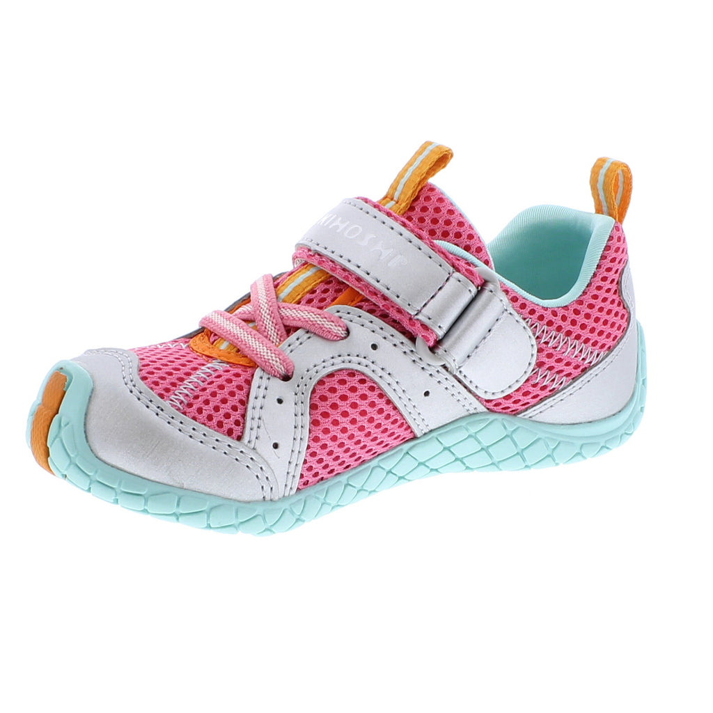 MARINA Child Shoes (Coral/Silver)