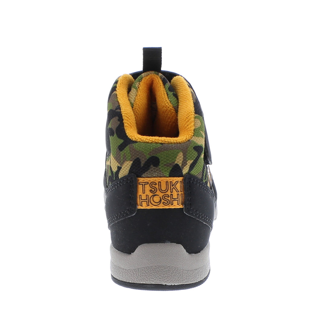 HIKE Child Boots (Black/Camo)