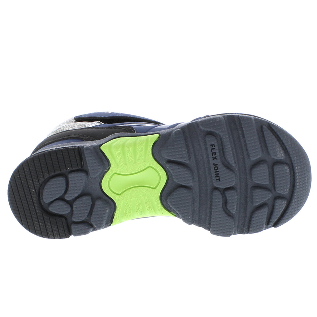 HIKE Child Boots (Navy/Green)