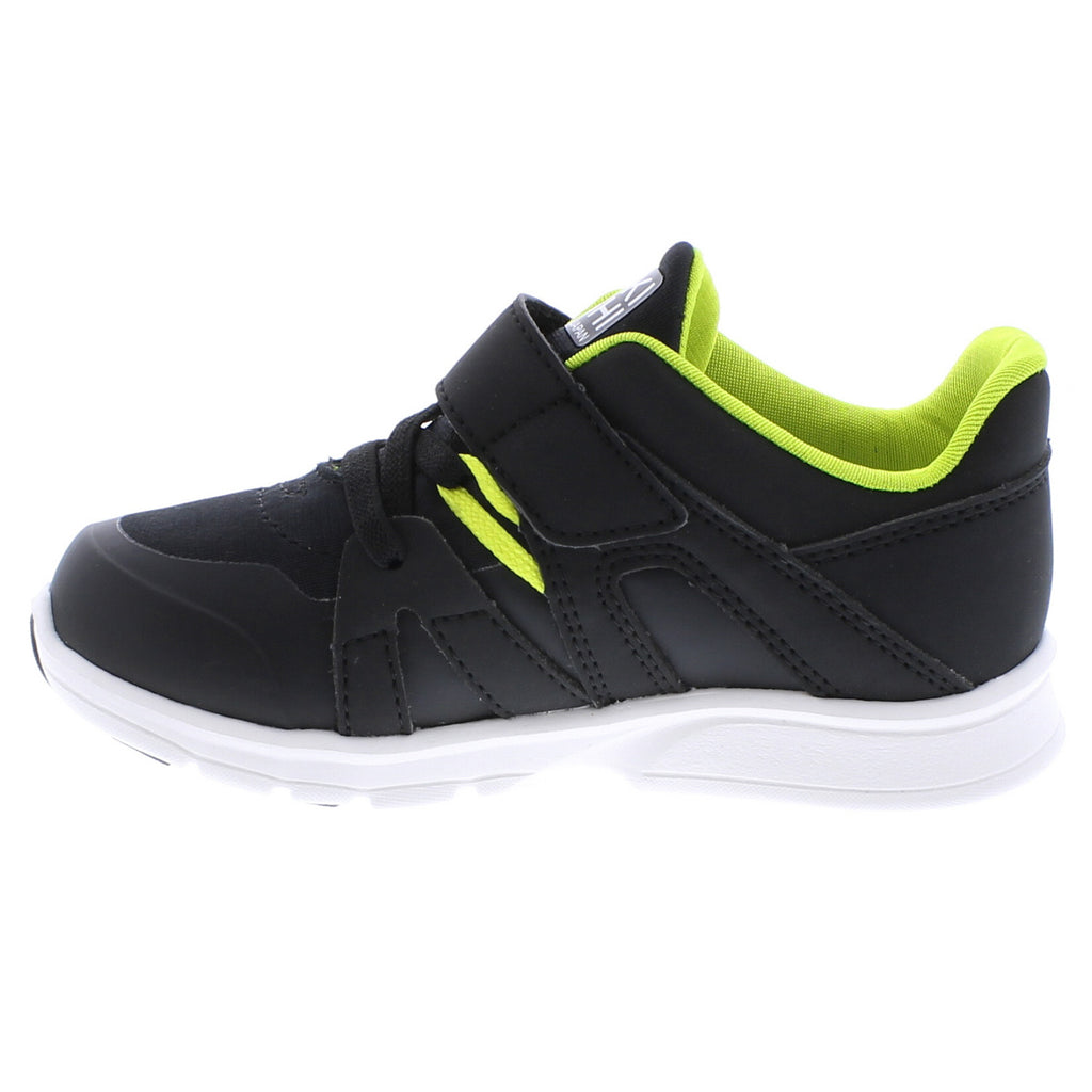LAUNCH Child Shoes (Black/Lime)